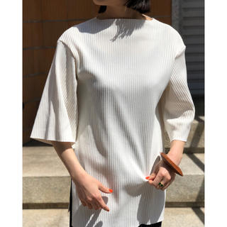 フィーニー(PHEENY)のPHEENY Pe/c WIDE RIB BOAT NECK(Tシャツ(半袖/袖なし))