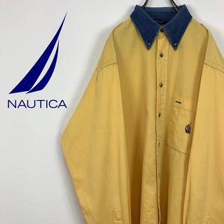 ノーティカ(NAUTICA)のノーティカ NOUTICA ジャマイカ製 90s 旧刺繍ロゴ  BDシャツ(シャツ)