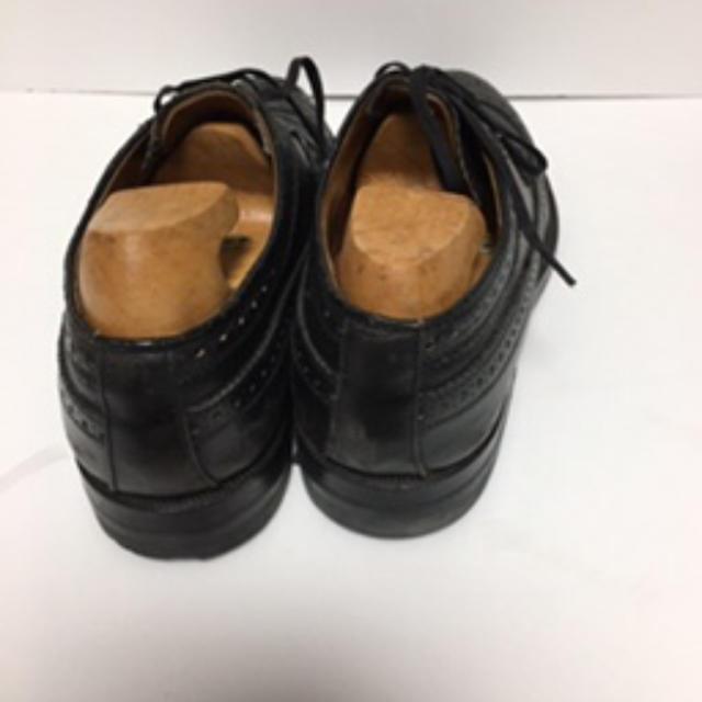 AUDI(アウディ)のAudi(アウディ) ビジネスシューズ メンズ 25cm 試着のみ 黒 ブラック メンズの靴/シューズ(ドレス/ビジネス)の商品写真