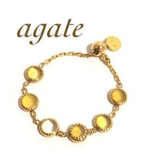 アガット(agete)のagate アガット k10YG ドリーミードリーミー オパール リング(リング(指輪))