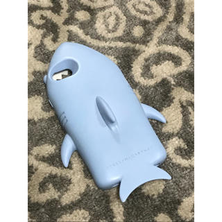 ステラマッカートニー(Stella McCartney)のステラマッカートニー iPhone7 ケース シャーク ライトブルー サメ(iPhoneケース)