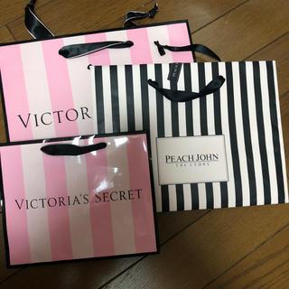 ヴィクトリアズシークレット(Victoria's Secret)の下着ブランド ショッパー 本日のみ値下げ(ショップ袋)