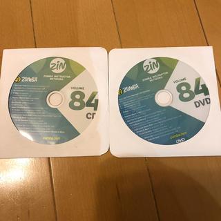 ズンバ(Zumba)のZin84 【CD 、 DVD】2枚セット(トレーニング用品)