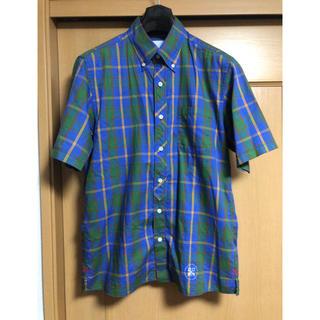 ユニフォームエクスペリメント(uniform experiment)のuniform experiment ボタンダウン半袖チェックシャツ(シャツ)