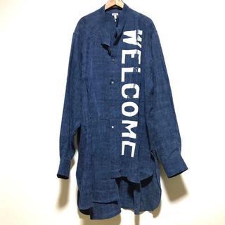 ロエベ(LOEWE)のLOEWE 18SS アシンメトリービッグシャツ オーバーサイズ ロエベ(シャツ)