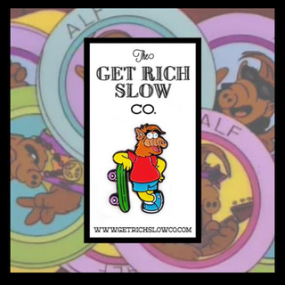 "The Get Rich Slow Co. ALF×BART 1.5"" PIN(スケートボード)"