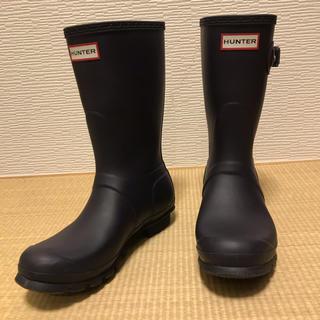 ハンター(HUNTER)のHUNTERレインブーツサイズU39(ダークパープル)(レインブーツ/長靴)