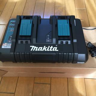 マキタ(Makita)のDC18RD マキタ 純正 2個口急速充電器(バッテリー/充電器)