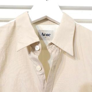 アクネ(ACNE)のacne 配色ブラウス メンズ(シャツ)