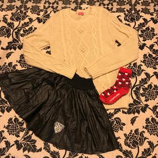 ジェニィ(JENNI)のSISTER Jenni  セーター&スカート&靴下セット 160(ニット)