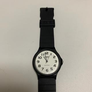 カシオ(CASIO)のCASIO チープカシオ ブラック 美品♡(腕時計)