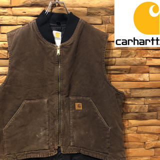 カーハート(carhartt)のcarhartt カーハート 中綿ベスト ダックベスト 2XLサイズ(ベスト)