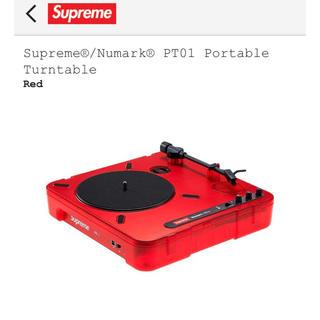 Supreme®/Numark® PT01 Portable Turntable(ターンテーブル)