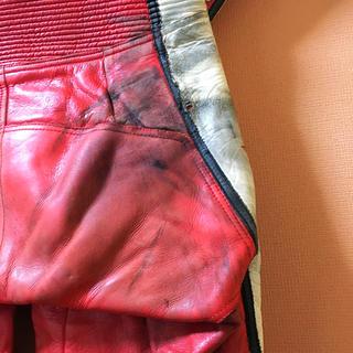 ヤマハ(ヤマハ)の NANKAI レーシングスーツ ビンテージ ヤマハ/マルボロ 革ツナギ(装備/装具)