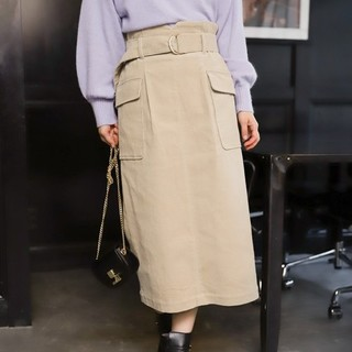 ミスティウーマン(mysty woman)の【新品】mysty woman タイトスカート(ロングスカート)