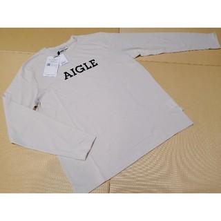 エーグル(AIGLE)の送料無料☆AIGLEエーグル☆長袖シャツ メンズXL(Tシャツ/カットソー(七分/長袖))