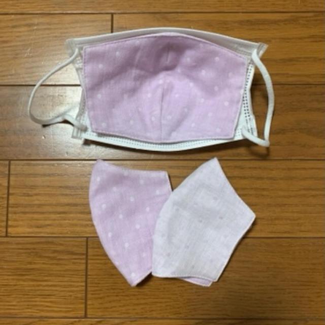 刈 払機 防護 マスク / インナーマスク立体 リバーシブルの通販