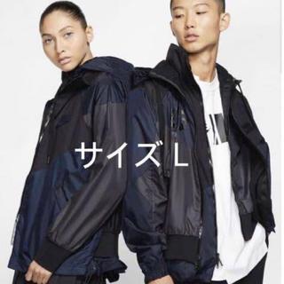 サカイ(sacai)のぐぐぐーぐる様専用!Nike sacai Hooded Anorak Lサイズ(ナイロンジャケット)