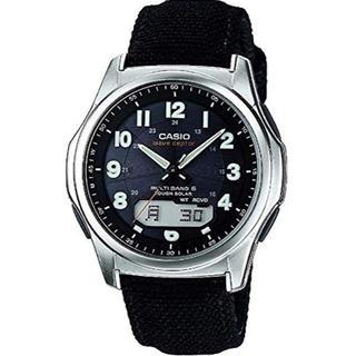 カシオ(CASIO)のカシオ CASIO 腕時計 ウェーブセプター 電波ソーラー 新品 レシート付(腕時計(デジタル))