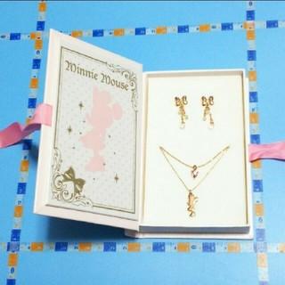 ディズニー(Disney)のブック型ケース入りアクセサリー「ミニーマウス」(セット/コーデ)