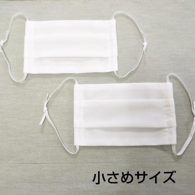 マスク 手作り布製(小さめサイズ)2枚セットの通販 by ちこ shop