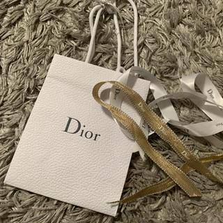 ディオール(Dior)のディオール DIOR 限定リボン ラッピング 紙袋(その他)