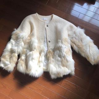 dholic - DHOLIC白ファーコート