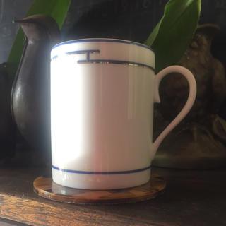 Hermes - エルメス リズム マグカップ 青