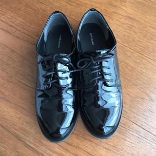 メルロー(merlot)の【値下げ中】メルロー レースアップシューズ エナメル(ローファー/革靴)