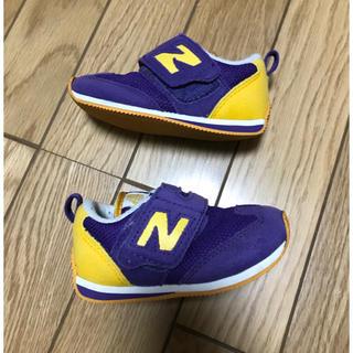 ニューバランス(New Balance)の【美品】クリーニング済!NewBalance キッズスニーカー13cm(スニーカー)