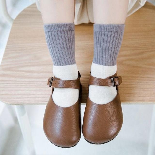 petitNATS❤北欧切替A《18〜20cm》〔ms19006-l〕 キッズ/ベビー/マタニティのこども用ファッション小物(靴下/タイツ)の商品写真