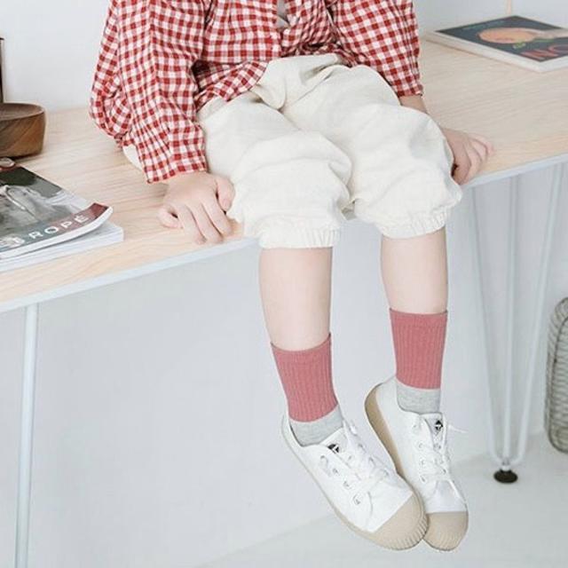 petitNATS❤北欧切替A《16〜18cm》〔ms19006-m キッズ/ベビー/マタニティのこども用ファッション小物(靴下/タイツ)の商品写真