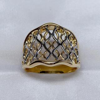 ポーラ(POLA)の●POLA k18 プラチナ ファッション リング(リング(指輪))
