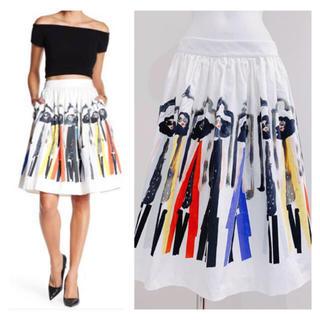 アリスアンドオリビア(Alice+Olivia)のalice +olivia スカート(ひざ丈スカート)