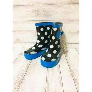 KUT レインブーツ ドット柄 雨の日も楽しくオシャレ♪  長靴(長靴/レインシューズ)