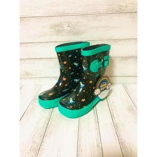 KUT レインブーツ スペース柄 雨の日も楽しくオシャレ♪  長靴(長靴/レインシューズ)