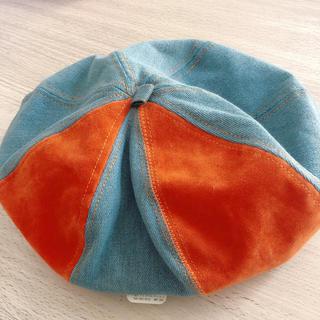 チャイハネ - チャイハネ 帽子 オレンジ