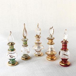 エジプト 香水瓶 5本セット(置物)
