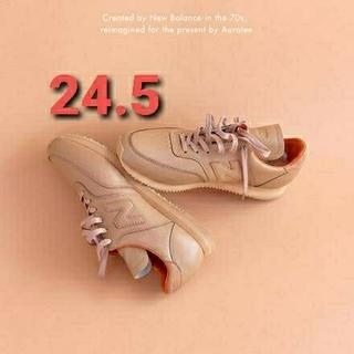 ニューバランス(New Balance)の【24.5cm】AURALEE × NEW BALANCE COMP 100(スニーカー)