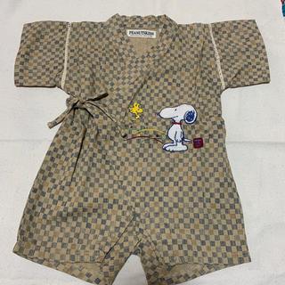 スヌーピー(SNOOPY)のスヌーピー 甚平 ロンパース 80(甚平/浴衣)