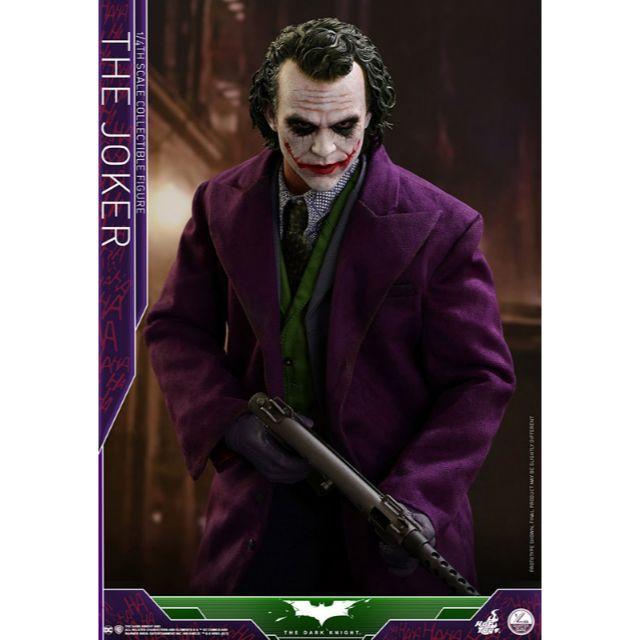 ジョーカー マスク 、 新品送料無料! ホットトイズ 1/4 ジョーカー バットマン ダークナイトの通販