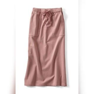 フェリシモ(FELISSIMO)の新品フェリシモLL らくちんペンシルスカート(ひざ丈スカート)