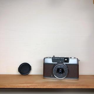 オリンパス(OLYMPUS)のOLYMPAS PEN EE-2【DARK BROWN】整備品、キャップ付(フィルムカメラ)