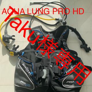 アクアラング(Aqua Lung)のAQUALUNG PRO HD BC+マレス レギュレーター(マリン/スイミング)