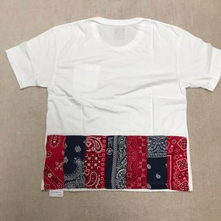 ヴィスヴィム(VISVIM)のvisvim ICT JUMBO TEE バンダナTシャツFIL(Tシャツ/カットソー(半袖/袖なし))