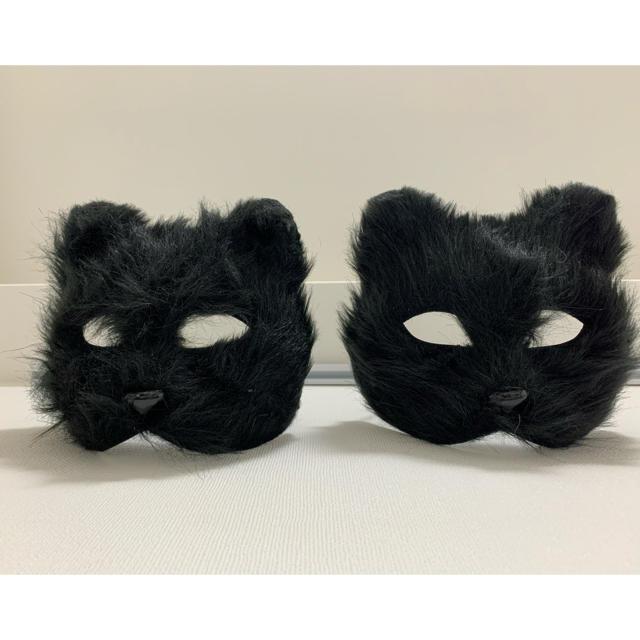 ユニチャーム超立体マスク 100枚 | claire's - ネコ コスプレ マスク (ブラック)の通販