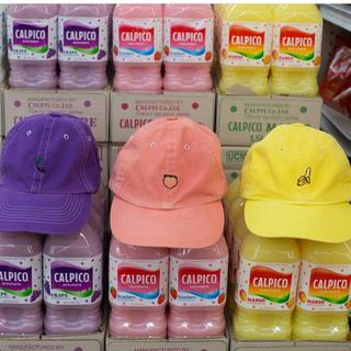 ユニフ(UNIF)のunif キャップ 帽子 フルーツ グレープ 紫 パープル(キャップ)