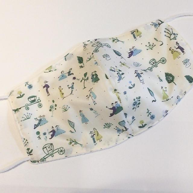 Carelage使い捨てマスク個包装ふつうサイズ,17リバティ♡ナノミックス布マスクの通販