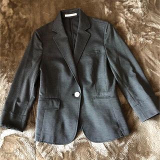 アオキ(AOKI)のAOKI レディースジャケット 七分袖  オフィスカジュアル サイズS(テーラードジャケット)
