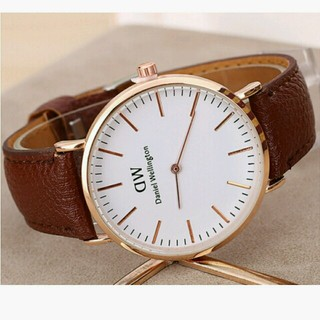 695185e92b シンプル時計、カップルでどうですか?新品(腕時計)